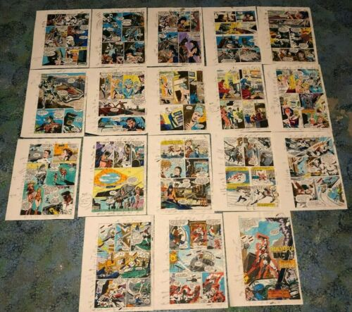 CHAMPIONS #4 ART color guides COMPLETE 18 PG STORY Pulsar Icicle Foxbat 1987
