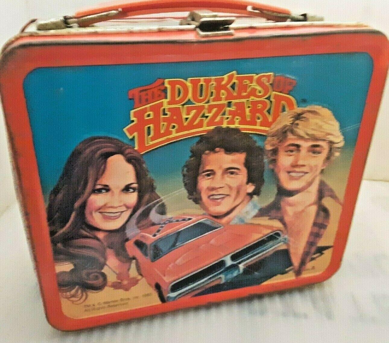 1980 Dukes of Hazzard Metal Lunch Box -  TV Show Lunchbox Ju