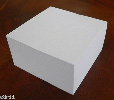 Note Paper Refill Cube - Paddedglued - Great For Your Paper Holder 4 X 4