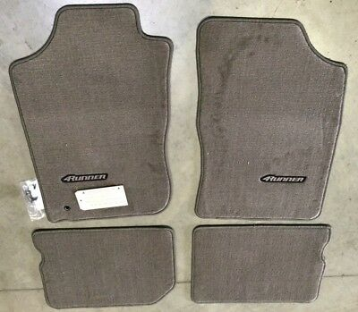 1996-2002 4RUNNER Carpet Floor Mats OAK Beige PT206-89010-14 GENUINE TOYOTA OEM