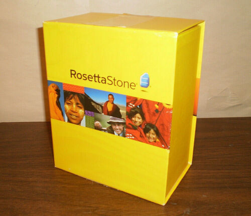 Full Rosetta Stone Spanish / Espanol (Latin America) Level 1-5 Set No Code 2010
