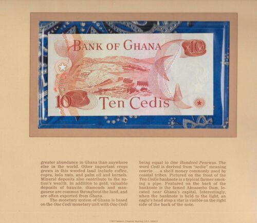Most Treasured Banknotes Ghana 1978 10 Cedis P16f UNC Prefix E/2