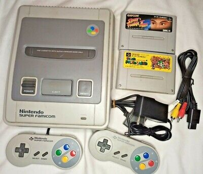 Nintendo Super Famicom Console 1 chip SNS-CPU-1CHIP-02 Japan Import US Seller
