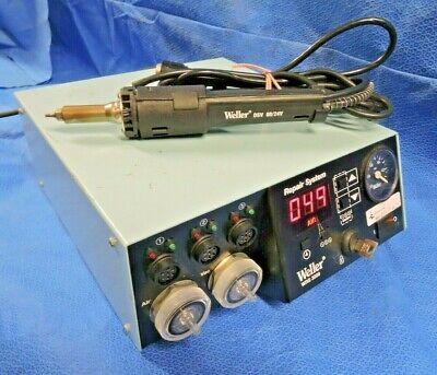 Weller Wrs 3000 Repair System Soldering Station With Dsv 8024v Desoldering Tool