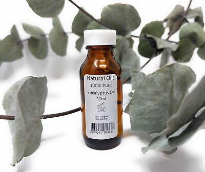 100% Natural Aceite Esencial de Eucalipto Pure - 30ML
