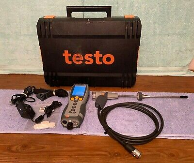 Testo 330-1 Commercial Industrial Combustion Analyzer Kit Needs O2 Sensor
