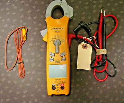 Fieldpiece Sc440 True Rms Clampmeter Clamp Meter Multimeter