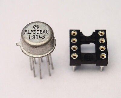 "Vintage ""1981"" LM308 IC for ""PROCO RAT"" Distortion Pedal Genuine Motorola ~FuzZ~"