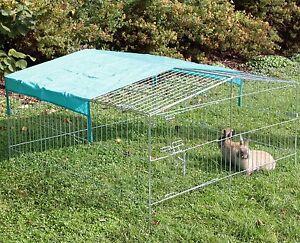 freilaufgehege kaninchen k fige auslauf gehege ebay. Black Bedroom Furniture Sets. Home Design Ideas