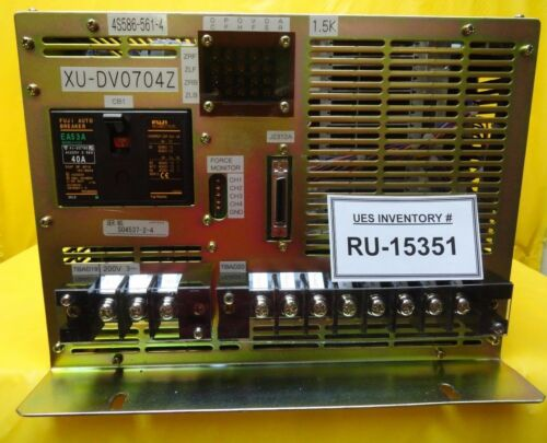 Yaskawa Xu-dv0704z Linear Motor Controller 4s586-561-4 Nikon Nsr-s204b Used