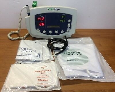 Welch Allyn 300 Series 53xxx Vital Signs Monitor Blood Pressurenibp Temperature