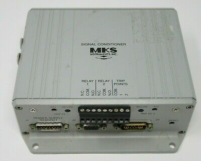 Mks Instruments 621b Signal Conditioner 1 Torr In 15vdc Out 0-10vdc 12tdfh