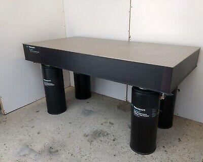 Tested Newport Rs-4000 Optical Table I-2000 Pneumatic Self Level Isolators