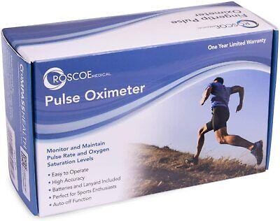 Roscoe Medical - Fingertip Pulse Oximeter Aa2