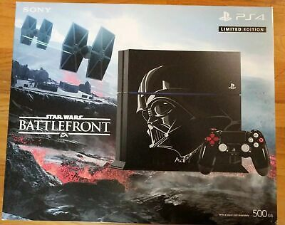 Brand New,SEALED Sony PlayStation 4 500GB Star Wars Battlefront Limited Edition