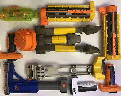 🇨🇦NERF🇨🇦Accessory Lot Barrel Tripod Grip Stock (Combined Shipping Available)