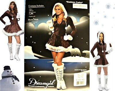 Dreamgirl Adult Women's Eskimo Cutie Costume sz Large (Eskimo Cutie Costume)