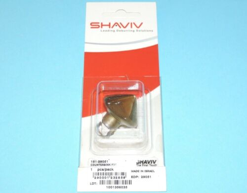 """F30 HSS Countersink for Holes up to 1.18"""" Shaviv Part #29051"""