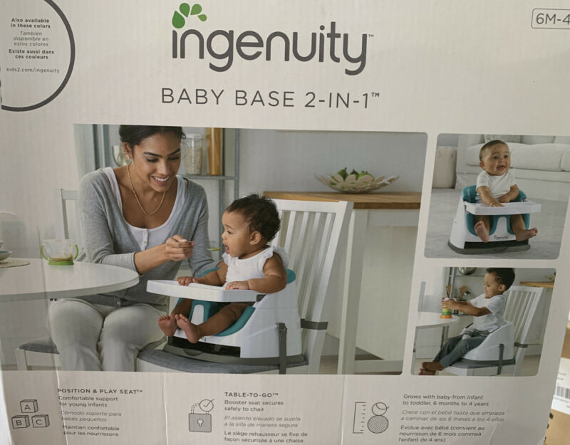 Ingenuity Baby Base 2-In-1