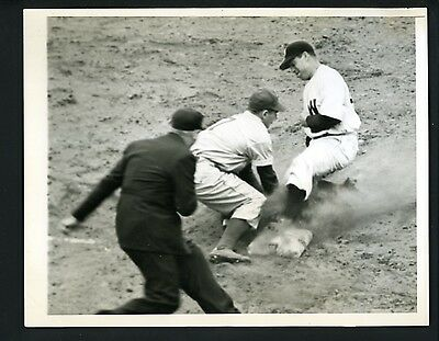 George Kell   George Myatt 1944 Press Wire Photo Philadelphia As Senators