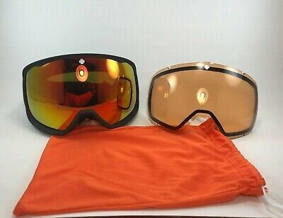 SPY Optic Underpin Snow Skiing Snowboarding Goggle + Bonus Low Light Lens