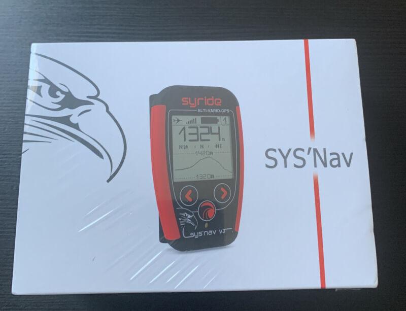 Syride variometer SYS NAV V3  for Paraglider  PPG  Paramotor Hangliding Pilots