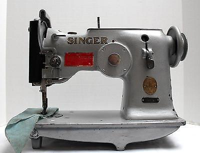 Singer 143w2 Zig Zag Lockstitch Heavy Duty Industrial Sewing Machine Head Only