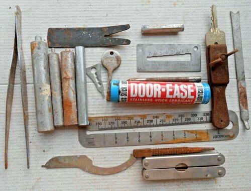 Lot of Kwikset, Schlage, Corbin, Master..   Locksmith Tools