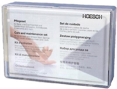 Hoesch Acrylwanne Pflegeset - Reparaturset Badewanne Sanitäracryl Acryl 699100