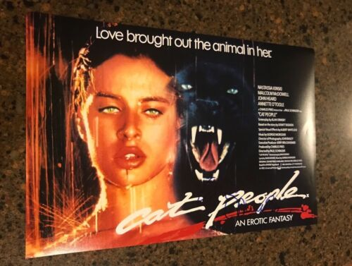 * GIORGIO MORODER * autographed signed 12x18 photo poster * CAT PEOPLE * 1