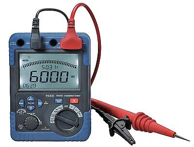 Reed R5002 High-voltage Digital Megohmmeter Hv Insulation Resistance Tester