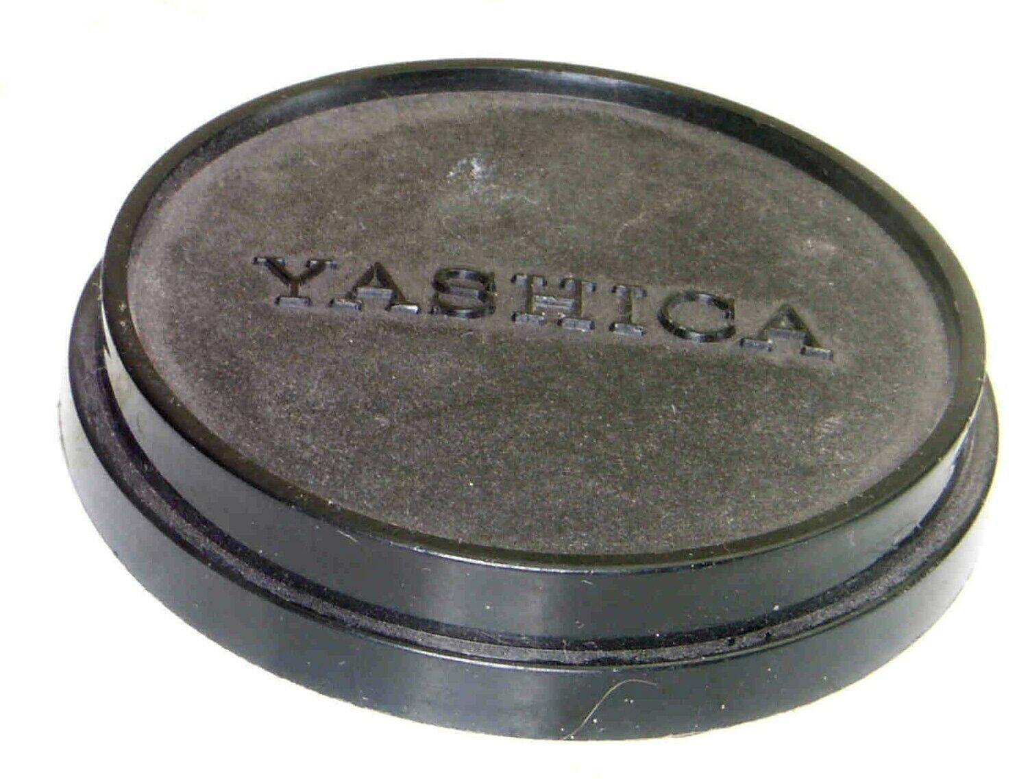 Genuine Yashica Push-On Press-On Slip-On Lens Cap -- 52mm -- Black Plastic - $9.99