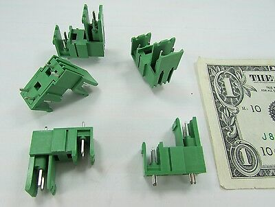 5 Phoenix Combicon Board Terminal Block Headers .197 5mm Mdstbv 2.52-g 1763032