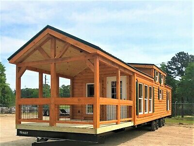 Cabin Tiny House Many Styles Movable Pre Fab For Your Propertylot Part. Furn.