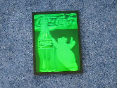 1995 Coca Cola Polar Bear and Coke Bottle Hologram from Collect-A-Card (Coke Cola Polar Bears)