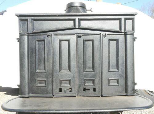 Vintage Ben Franklin Black Cast Iron Wood Burning Stove Pick-Up Only