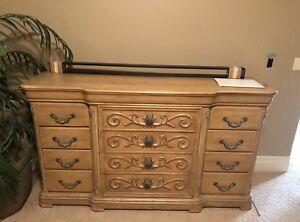 12 Drawer Dresser - Solid Wood
