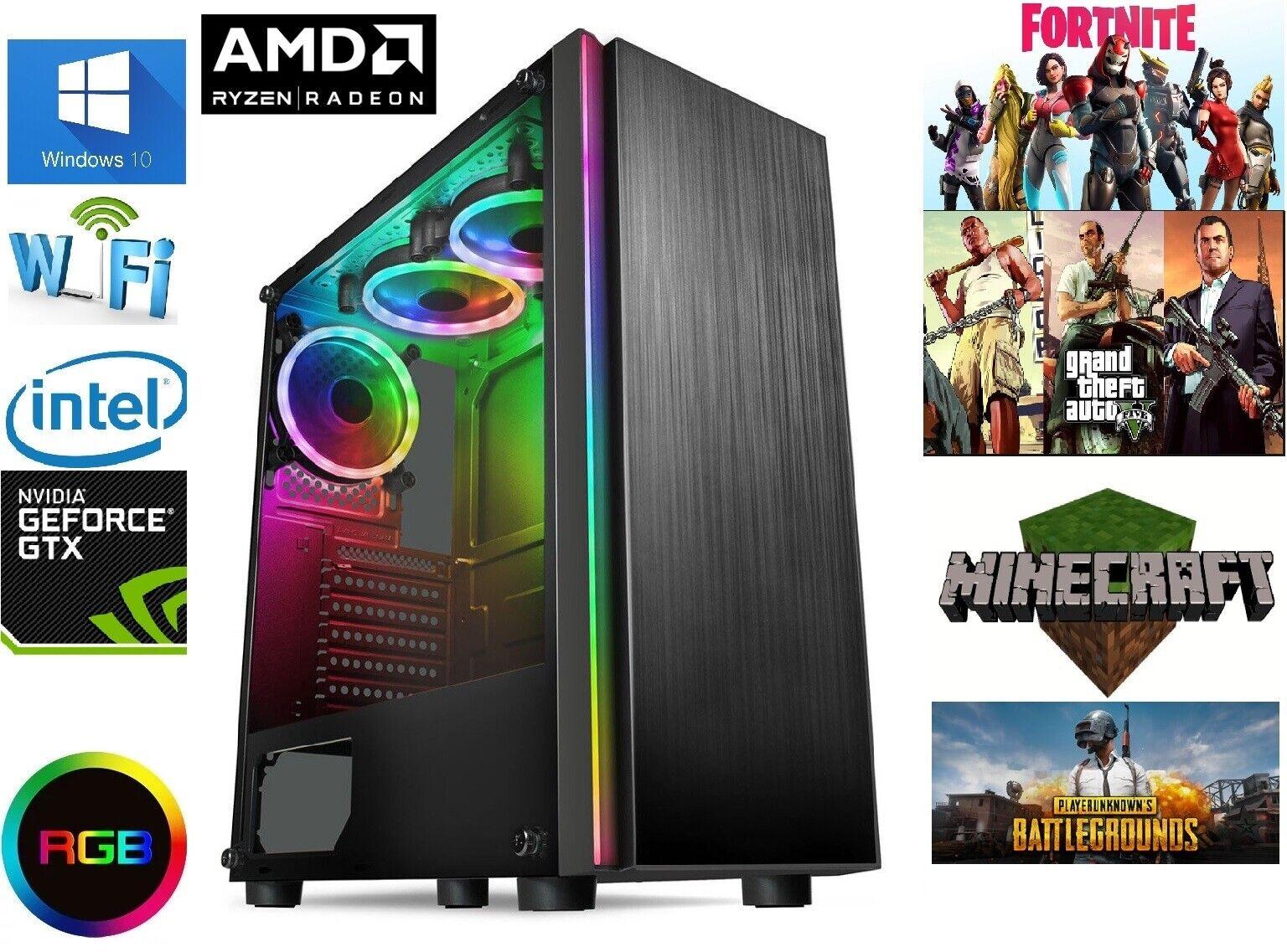 Computer Games - Gaming Computer PC AMD RYZEN 5 3600 Custom Options