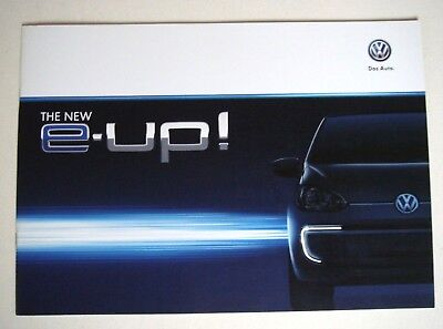 Volkswagen . Up . Volkswagen E Up . December 2013 Sales Brochure