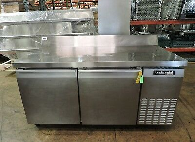 Continental Crb67-bs Commercial Worktop Refrigerator