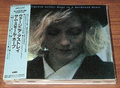 PROMO issue! VIRGINIA ASTLEY Japan CD obi Hope In A Darkened Heart DAVID