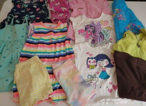 Girls 2t 24 Mo Lot Clothes Outfit Spring Summer13 Pc