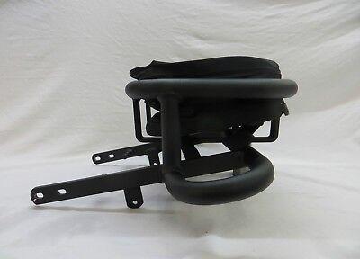 Kawasaki KFX700 Artrax Gepäckträger mit Tasche / Grab Bar / Sixpack Träger