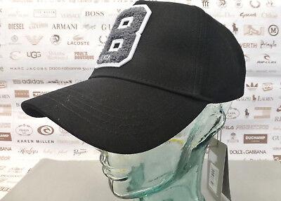 BENCH Baseball Cap Black DURAND Cotton Hat Structured Tonal Logo Sport Caps BNWT