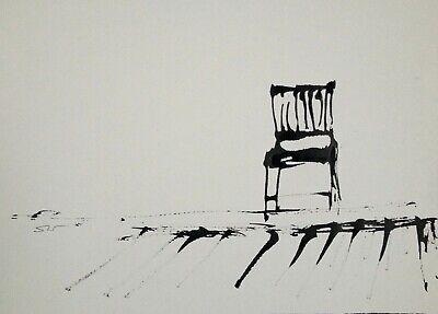 Always room for one more - Original signed Ink sketch A4