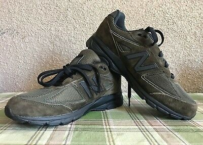 New Balance 990v4 Kids School Grade Suede Sneaker Shoes | Olive Green KJ990OLG Olive Suede Kids Shoes