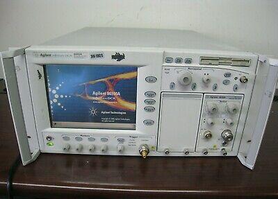 Hp Keysight Agilent 86100a Infiniium Dca Wide Bandwidth Oscilloscope 86105a