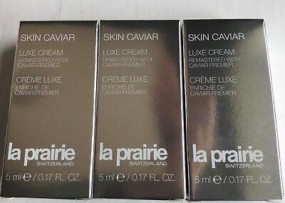 LA PRAIRIE SKIN CAVIAR LUXE CREAM PREMIER DELUXE SET BRAND NEW WORTH £105
