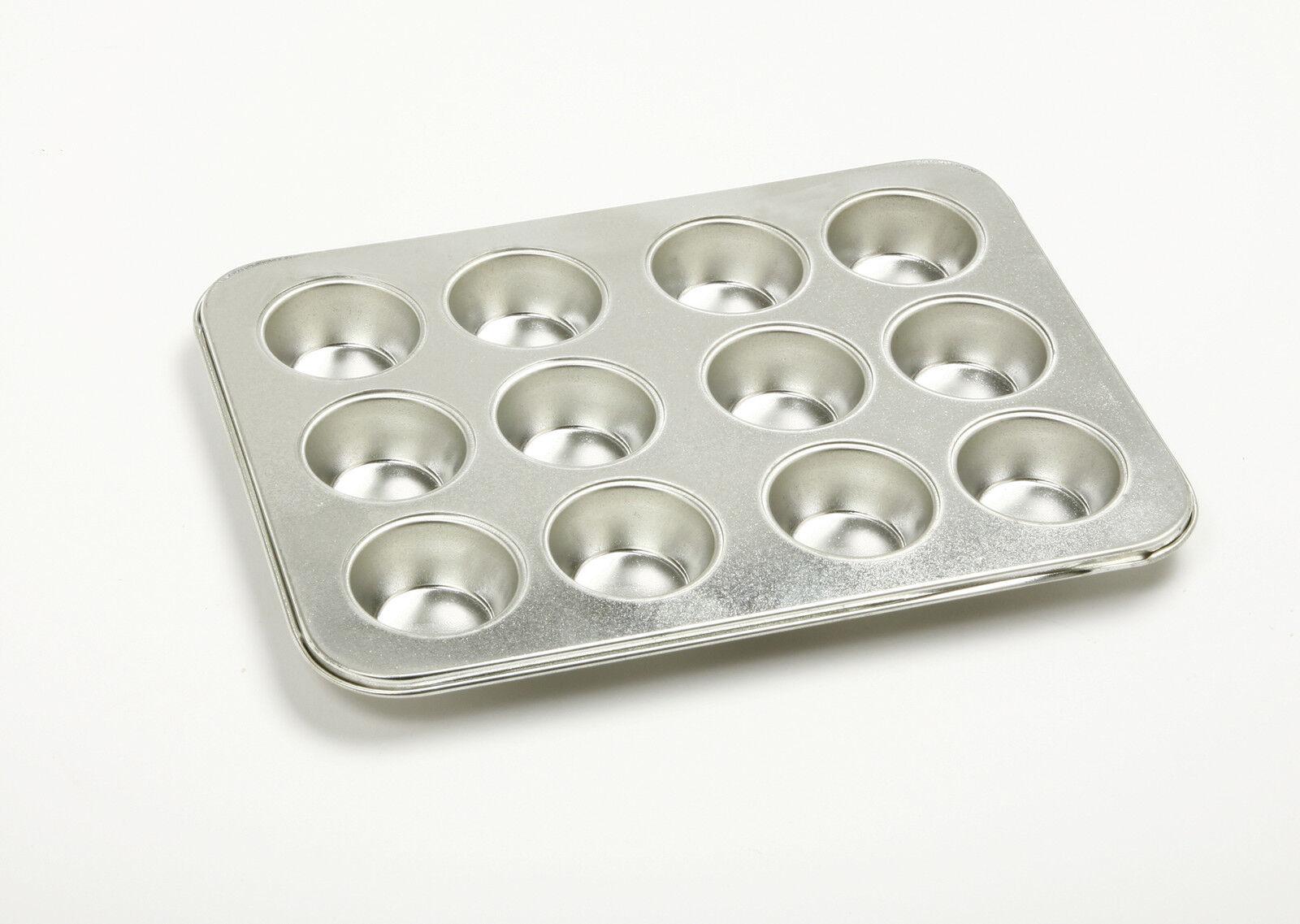 Norpro 3768 Heavy-duty Gauge Tin Mini Muffin Petite Cupcake 12 Cup Pan on Sale