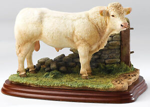 A9789  Border Fine Arts James Herriot Charolais Bull Figurine  NEW in BOX 16556